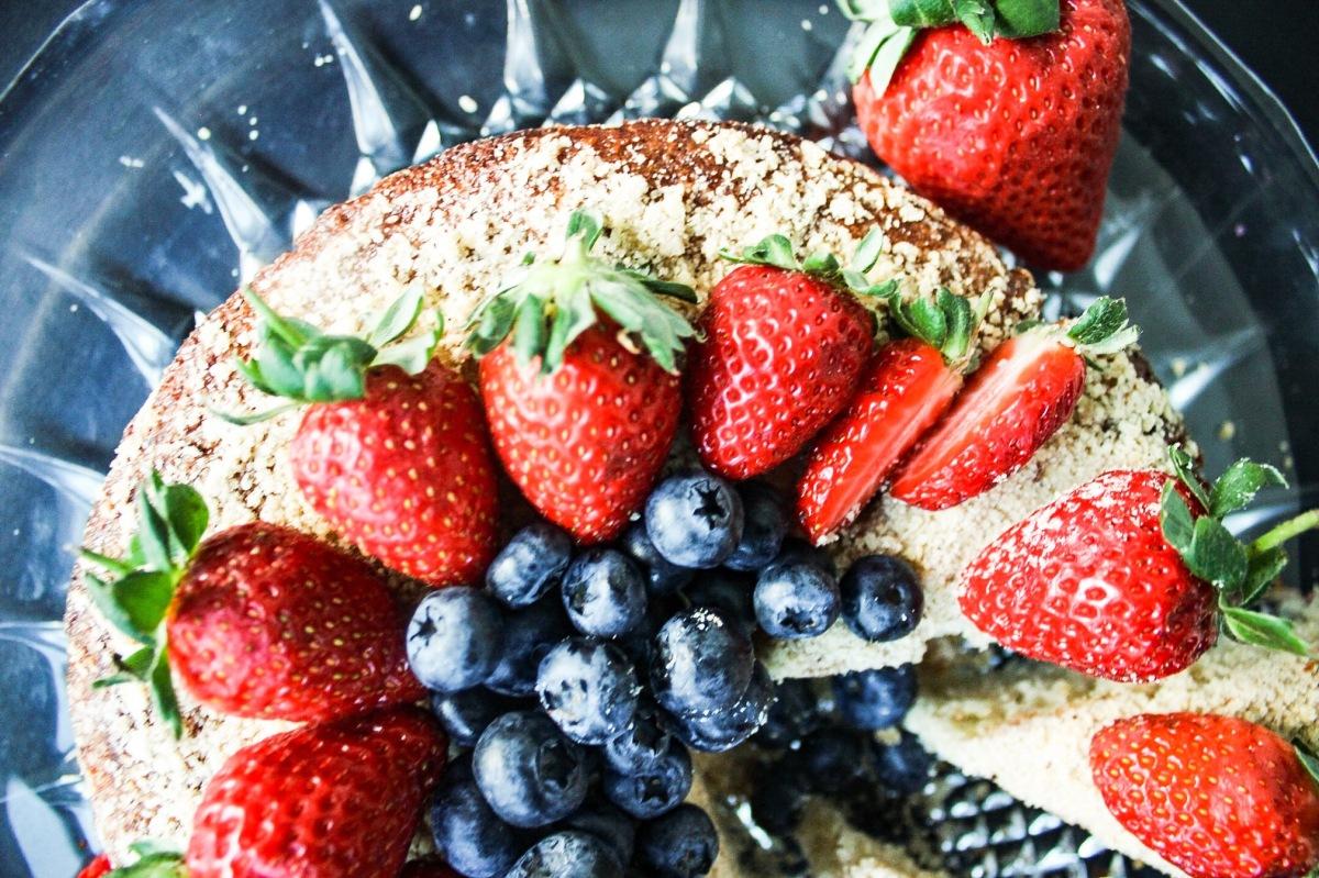 Protein Mixed BerryCake